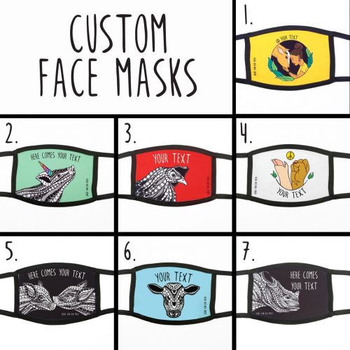 Pre-order Customize Your Face Mask
