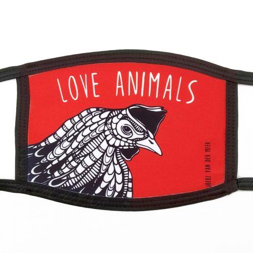 Mask Chicken – Love Animals