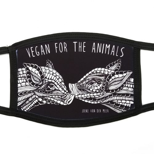 Pre-order Mask Pigs – Vegan for the animals