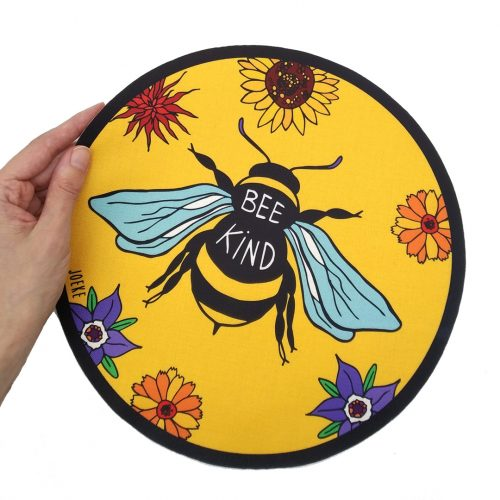 Sew-On Patch Oversized – Bee Kind
