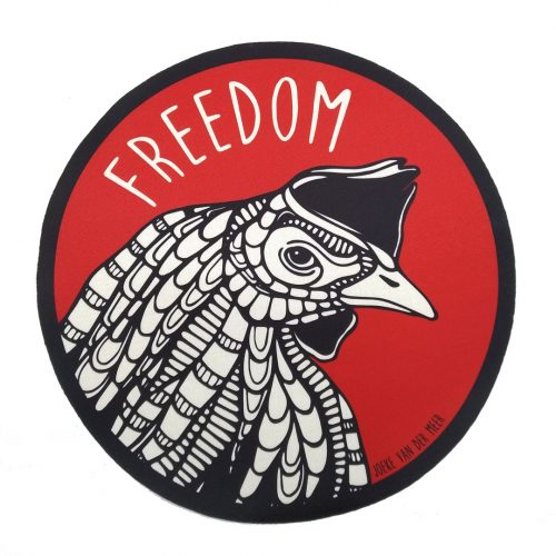 Sew-On Patch Oversized – Freedom