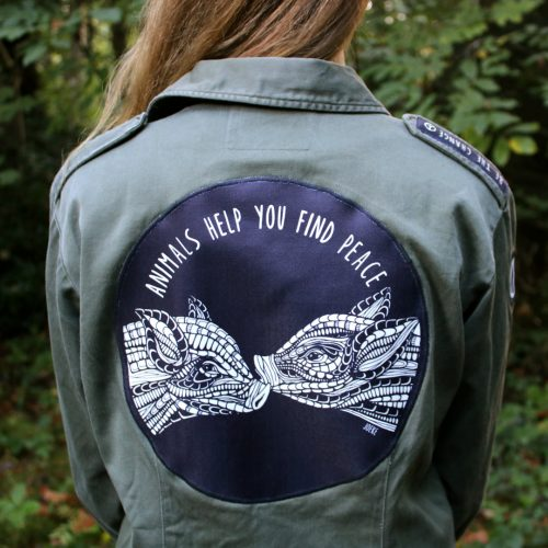 Jacket (Limited Edition) – Peace Piglets (S)