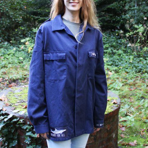Jacket (Limited Edition) – Ocean (navy) (L)