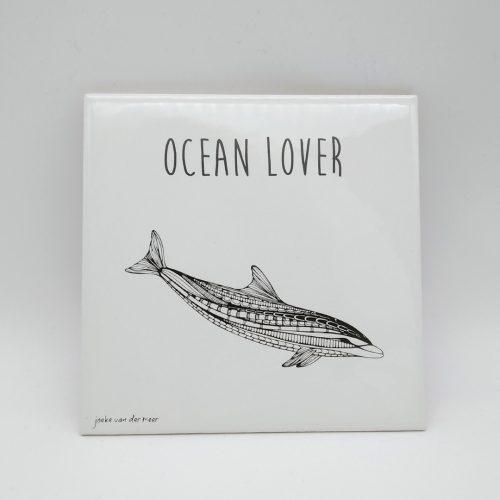 Tile – Dolphin – Ocean Lover