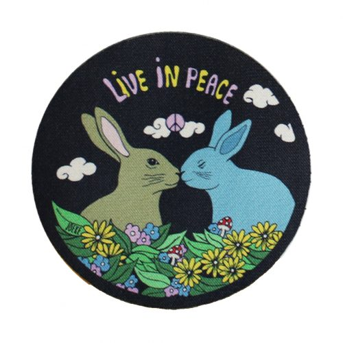 Sew-On Patch Bunnies