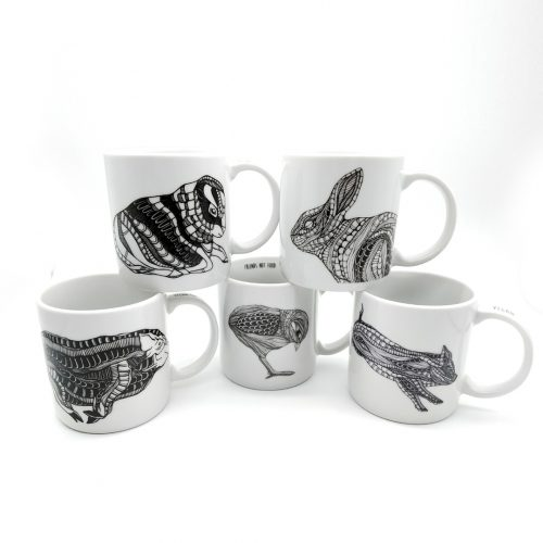 Set of 5 Mugs – Vegan