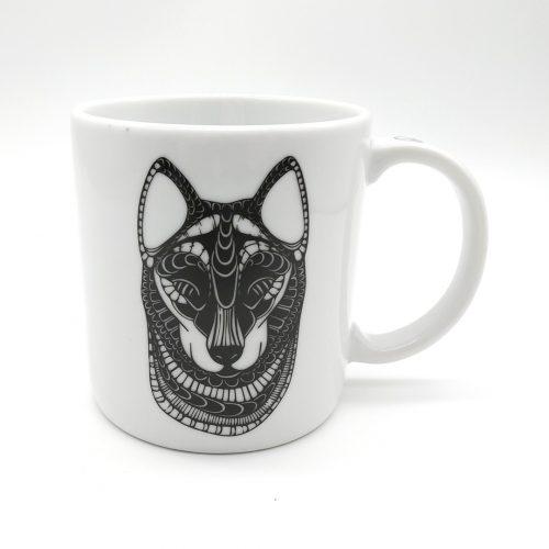 Mug Wolf – Peacesymbol