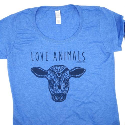 Shirt – Women – Calf Love animals (M) (Flawed