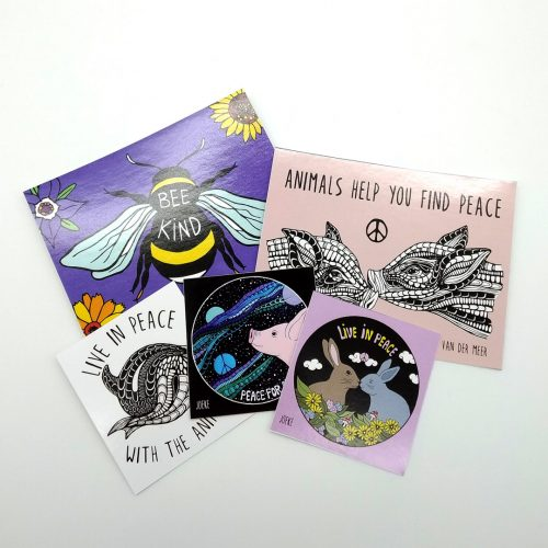 Sticker Pack Peace (5 pcs)