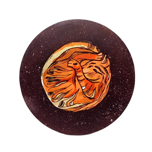 Print on wood – Planet Cat