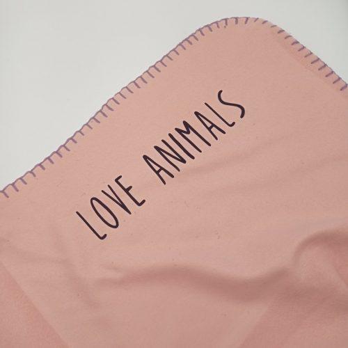 Fleece Blanket Pig + Free cathair