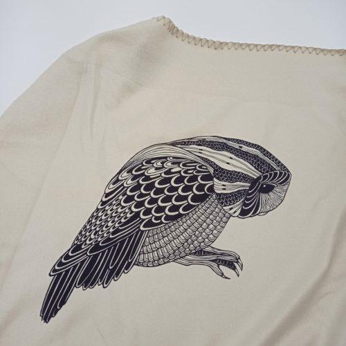 Fleece Blanket Forest + Free cathair