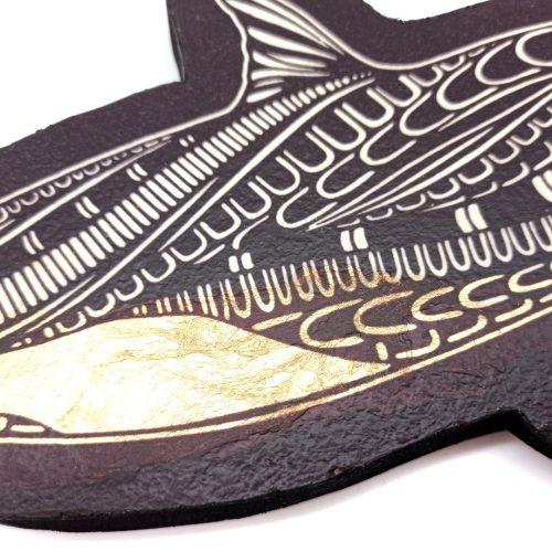 Print on wood – Killerwhale (Female)