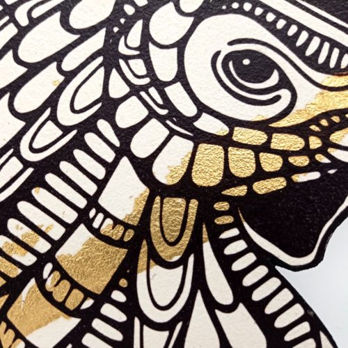 Print on wood – Chicken (Small)