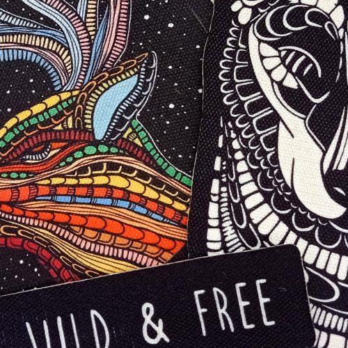 Sew-On Patch Pack – Wild & Free (3pcs)