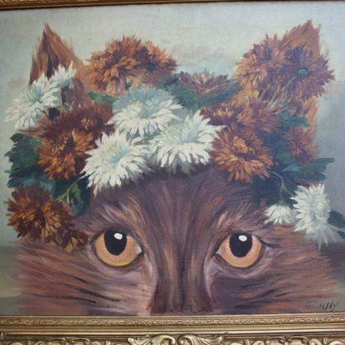 ORIGINAL Artwork – Thriftshop Cat